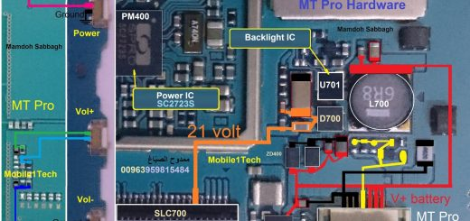 Samsung Galaxy Tab E T561 Battery Connector Terminal Jumper Ways