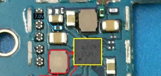 Samsung Galaxy J5 2016 J510 Cell Phone Screen Repair Light Problem Solution Jumper Ways