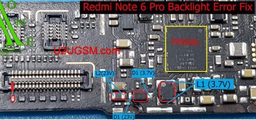 Xiaomi Redmi Note 6 Pro Display Light Solution LCD Jumper Problem Ways