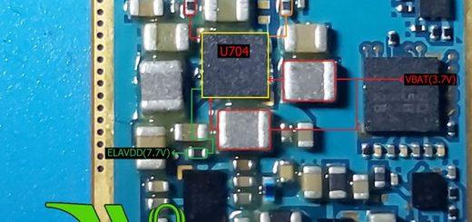 Samsung Galaxy Note II N7100 Cell Phone Screen Repair Light Problem Solution Jumper Ways