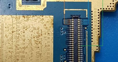 Samsung Galaxy S4 mini I9192 Cell Phone Screen Repair Light Problem Solution Jumper Ways