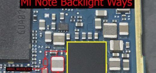 Xiaomi Redmi Note Cell Phone Screen Repair Light Problem Solution Jumper Ways