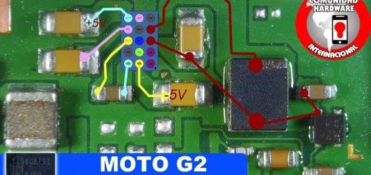 Motorola Moto G2 Cell Phone Screen Repair Light Problem Solution Jumper Ways