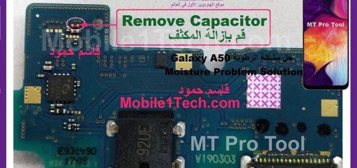 Samsung Galaxy A50 A505F Moisture Error Problem Solution Ways