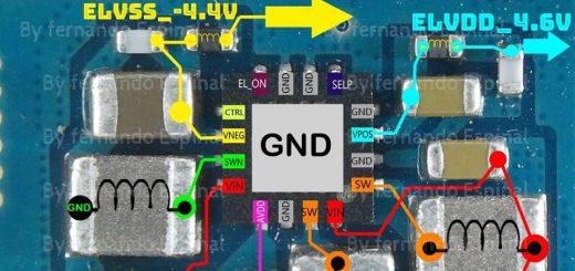Samsung Galaxy J1 Ace Neo J111F Cell Phone Screen Repair Light Problem Solution Jumper Ways