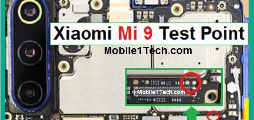 Xiaomi Mi 9 Test Points Pin Out Solution Flash Point
