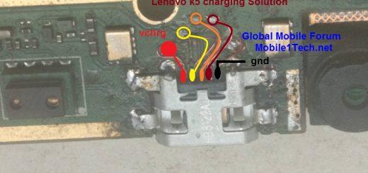 Lenovo K5 Charging Problem Solution Jumper Ways Lenovo K5 Charging Jumpers