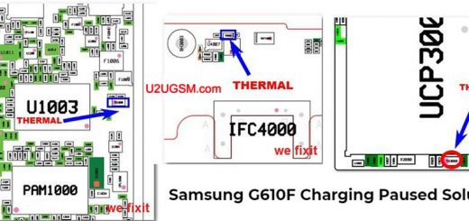 Samsung Galaxy J7 Prime G610F Charging Paused Solution Jumpers